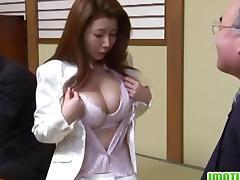Asian, Asian, Big Tits, Boobs, Brunette, Couple