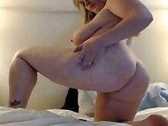 bbw webcam blond teaser