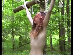 BDSM, BDSM, Outdoor, Slave, Lady, Forest