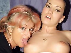 HardcoreMatures Video: Christina and Silvia