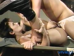 Jamie Summers, Kim Angeli, Tom Byron in classic porn site