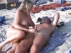 Beach, Amateur, Beach, Blowjob, Fucking, Nudist