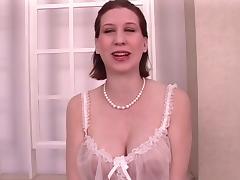 Strip, Brunette, Mirror, Nylon, Sex, Spreading