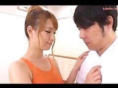 Teacher, Asian, Couple, Gym, Japanese, POV