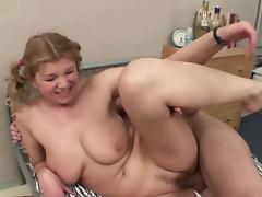 German Amateur Teen fuck in Ass at Hostel
