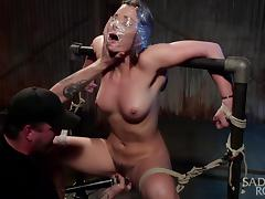 All, Bound, Fucking, Vibrator, Tied Up, Hogtied