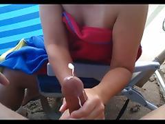 Beach, Amateur, Beach, Handjob, Beach Sex