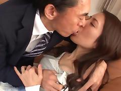 Japanese, Asian, Blowjob, Bra, Couple, Cowgirl
