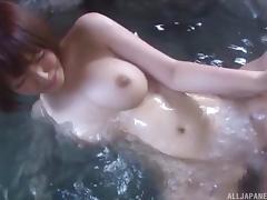 Bathing, Asian, Bath, Bathing, Bathroom, Big Tits