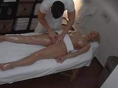 Massage, Amateur, Big Tits, Blonde, Boobs, Fingering