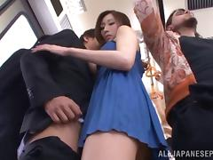 Bus, Asian, Beauty, Blowjob, Bus, Hardcore