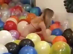 Balloon, 18 19 Teens, Balloon, Beauty, Bikini, Fetish