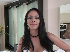 Glamorous brunette enjoys getting pussy licked before a hardcore fuck