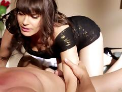 He hires an escort, pounds her and cums all over her