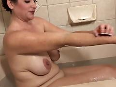 Bathing, Amateur, Bath, Bathing, Bathroom, HD