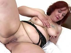big butt thick grandma