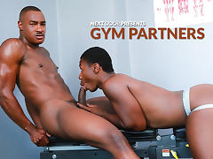 Tyson Tyler & Damian Brooks in Gym Partners XXX Video