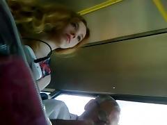 Bus, Bus, Russian, Skirt, Upskirt, Voyeur