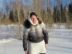 pissing in the Siberian forest) 720p