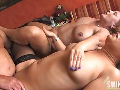 German Orgy, Amateur, BBW, Big Tits, Blonde, Boobs