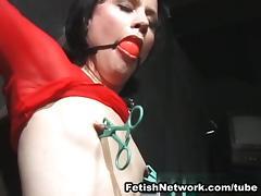 Casting, Audition, BDSM, Bondage, Bound, Brunette
