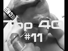 Top 40 XTube Favorite Facials #11