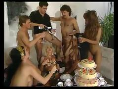 German Orgy, Classic, College, German, Group, Orgy