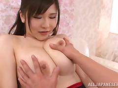 sexy japanese slut loves to have her mammaries played with