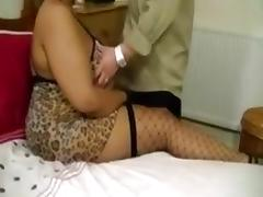 Curvy bitch drives my buddy crazy with a blowjob and a titjob