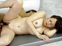 Crazy Japanese slut Rina Wakamiya in Amazing JAV uncensored Blowjob movie