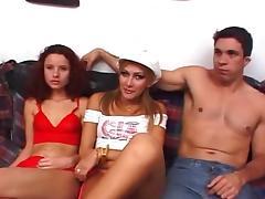 Transsexual Perfect Trio Banging
