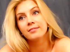 Webcam, Blonde, Smoking, Solo, Webcam