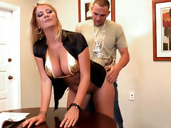 Office, BBW, Big Tits, Blonde, Boss, Doggystyle