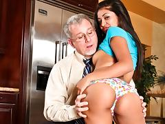 Ruby Rayes in My New White Stepdaddy #02, Scene #04