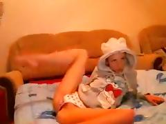Bed, Bed, Russian, Webcam, French Teen