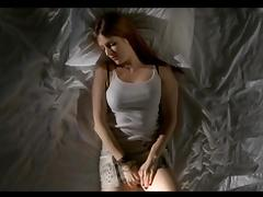 Girl masturbating -Irina