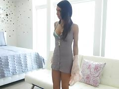 Skinny, Anal, Assfucking, Brunette, College, Reality