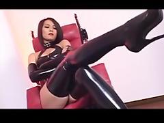 mistress Kim with is slave