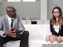 Beauty, Beauty, Fucking, Interracial, Pornstar, Big Black Cock
