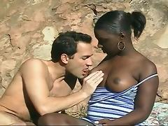 Peaches - Black Girl Gets Fucked Anal