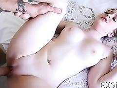 Bald pussy aperture is annihilated without any mercy
