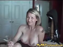 My MILF Exposed Pierced and tattooed couple homemade sex