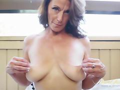 Mimi Moore in Masturbation Movie - AuntJudys
