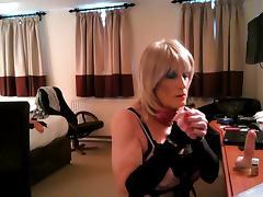 Daniella in handcuffs