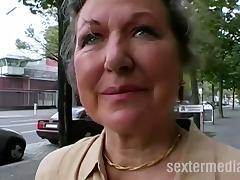Granny, German, Granny, Hardcore, Interracial, Mature