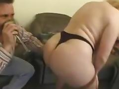 Chubby brit milf anal