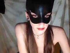 Argentinian, Argentinian, Teen, Mask