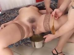 3 Chefs knock up some creampie soup!