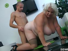 He calls big-titted fatty for play
