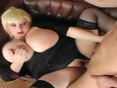 Blonde bbw with giant tits